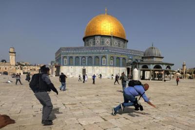"""محاولات إسرائيلية لتغيير مسار """"مسيرة الأعلام"""" وأمريكا تراقب الحدث"""