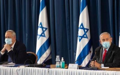 خلاف بين نتنياهو وغانتس حول سياسة واشنطن لمواجهة طهران