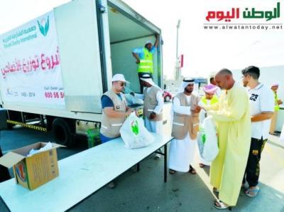 جمعية الشارقة الخيرية توزع لحوم الأضاحي على 6 آلاف أسرة