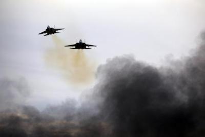 غارات إسرائيلية على حمص في سوريا