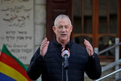 غانتس: نعمل من أجل هدنة تحقق الرفاهية لسكان غزة