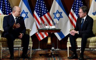 """بلينكن لـ بينيت: """"احتياجات غزة يجب ألا ترتبط بملف الجنود الأسرى"""""""