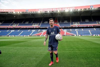 ماذا قال ميسي بعد انتقاله لباريس سان جيرمان؟