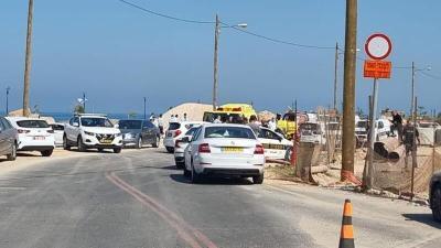 إصابة شرطيين إسرائيليين في عملية دهس في نهاريا
