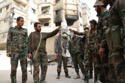 معارك عنيفة بين الفرقة الخامسة والأمن العسكري في درعا