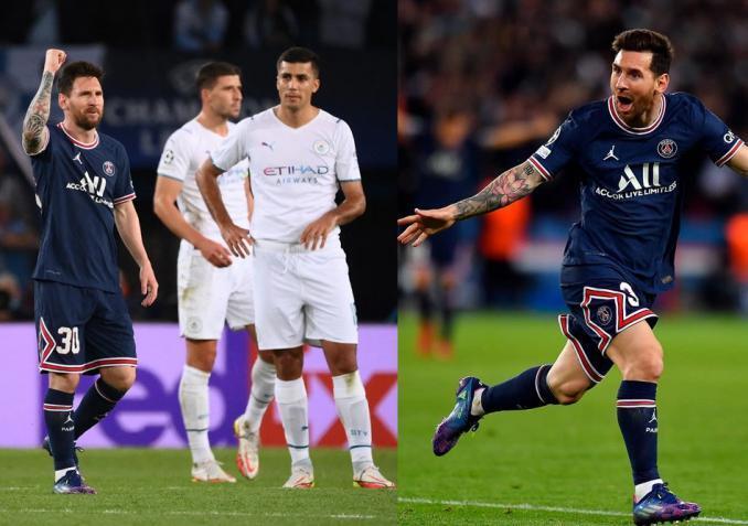 ميسي يقص شريط أهدافه مع فريق باريس سان جيرمان