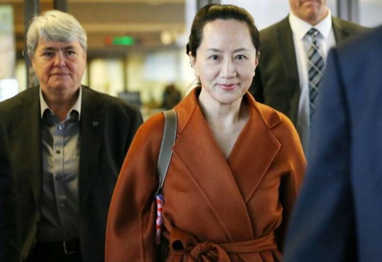 الإفراج عن المديرة التنفيذية لشركة هواوي منغ وانزهو