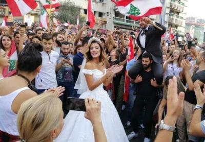 """الإعلام اللبناني يفند الشائعات.. لا يوجد تظاهرات """"تزوجني بلا مهر"""""""