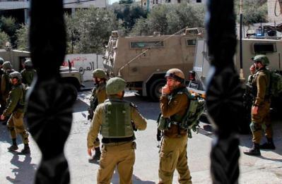 جنين.. الاحتلال يشرع بتدمير وتجريف شارع في بلدة يعبد