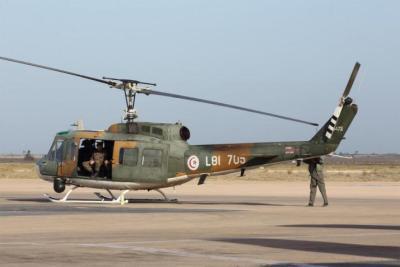 مقتل 3 جنود خلال تحطم مروحية عسكرية تونسية
