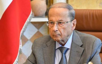 الرئيس اللبناني بلاده ترغب بمعاودة المفاوضات لترسيم الحدود مع إسرائيل