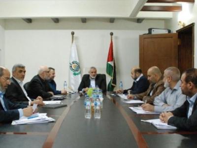 حماس تصدر البيان الختامي ومخرجات اجتماعات قيادتها في القاهرة