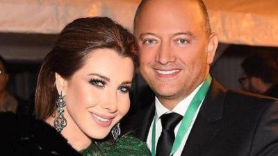 صورة.. بعد شائعات طلاقهما أول إطلالة لـ نانسي عجرم وزوجها