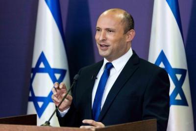 """بينيت : إقامة دولة فلسطينية يعني جلب """"دولة إرهابية"""" على بعد 7 دقائق من منزلي"""