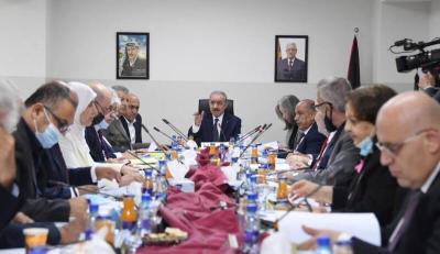 مجلس الوزراء الفلسطيني يعقد جلسته الأسبوعية في بيت لحم