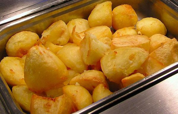 How to roast potatoes