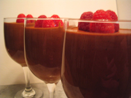 velvety foamy chocolate in a cup 2331