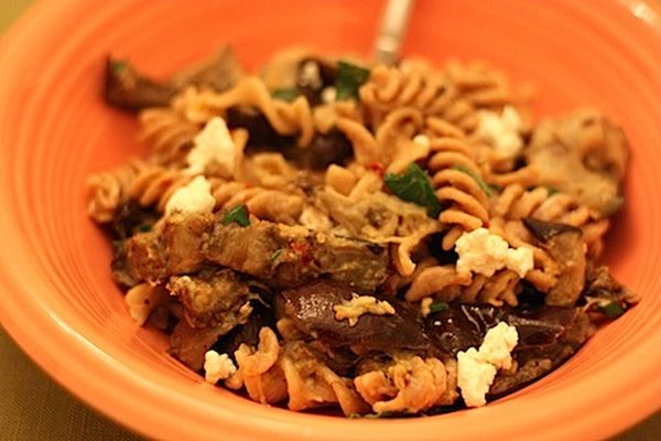 Fusilli-with-Roasted-Eggplant-and-Goat-Cheese1