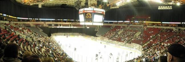 La Key Arena, un stade qui ne plaisante pas...