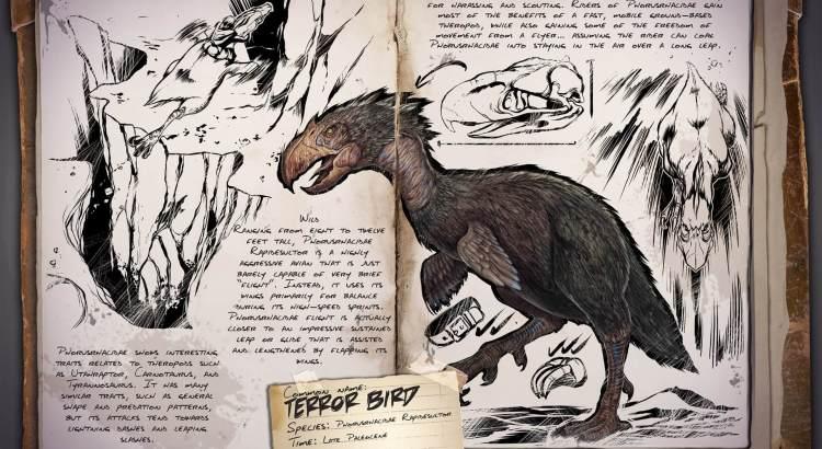 Liste de tous les dinosaures de ark
