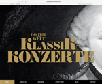Klassik Konzerte designed by alwaysinspired