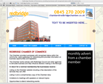 redbridge chamber of commerce website designed by alwaysinspired
