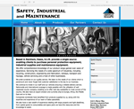 safety industrial website designed by alwaysinspired