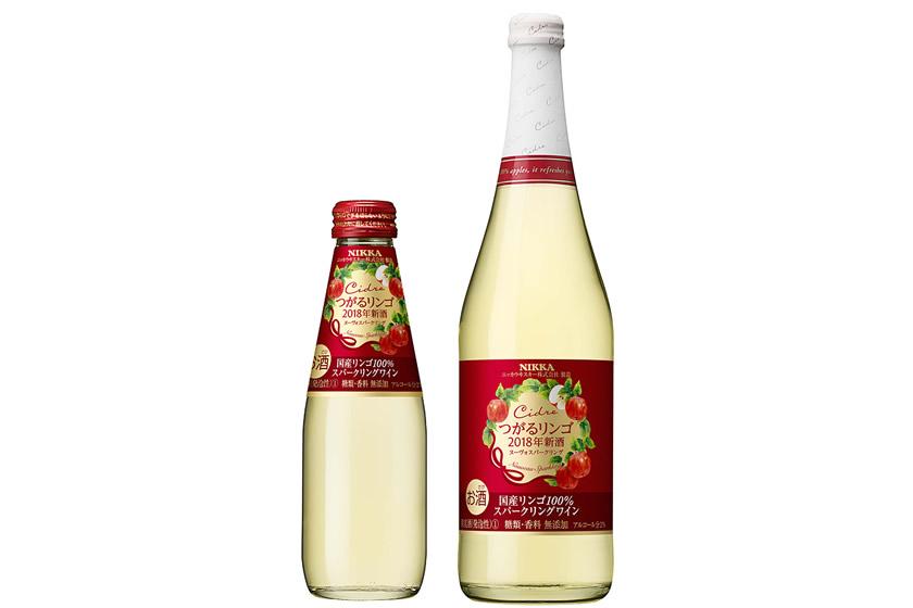 """シードルのヌーボー!アサヒビールが今年収穫した林檎「つがる」100%の""""新酒""""を新発売"""