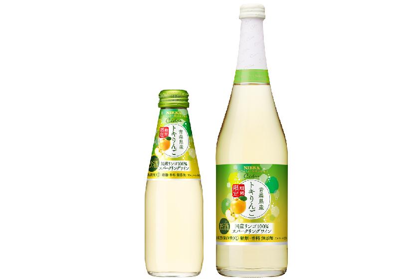 アサヒ、青森産りんご100%使用の「ニッカシードル トキりんご」発売