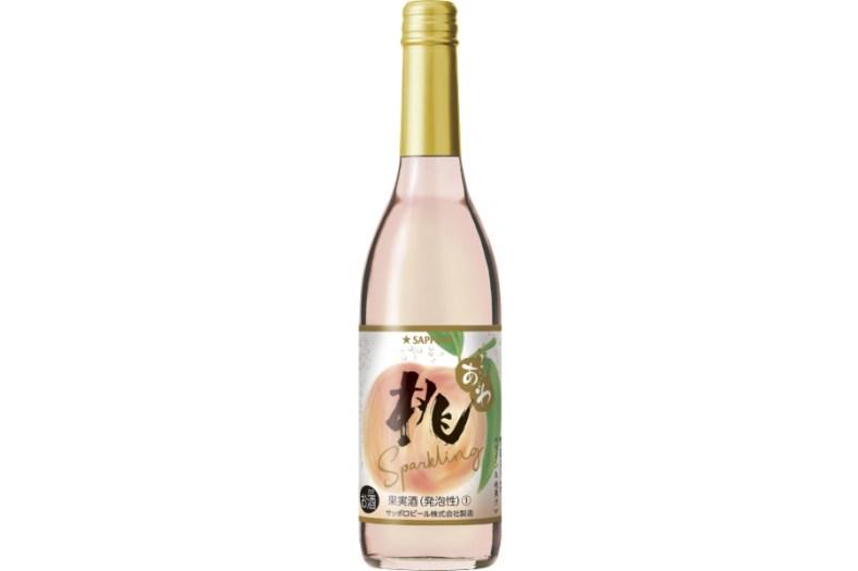 サッポロビール「桃のワインスパークリング」
