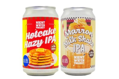 NIGHT WATCH PROJECT「Hotcake Hazy IPA」「Marron Milk Shake IPA」