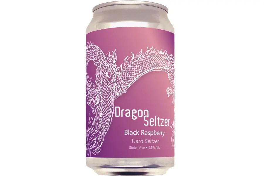 Dragon Seltzer Blackraspberry(クロキイチゴ)