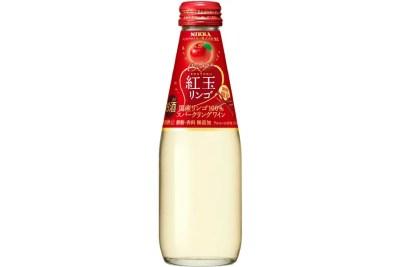 アサヒビール「ニッカ シードル紅玉リンゴ」