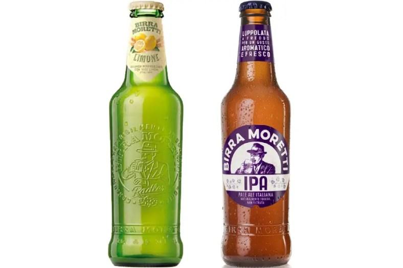 モレッティ「モレッティ・リモーネ・ラドレル」「モレッティ・ビール・IPA」