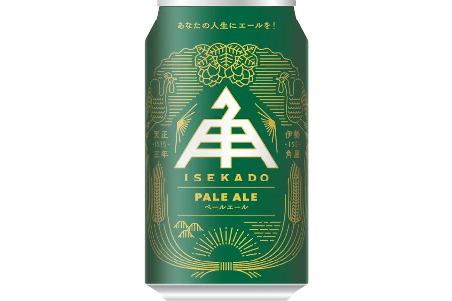伊勢角屋麦酒「ISEKADO PALE ALE(イセカド ペールエール)」