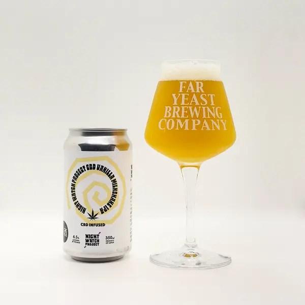 Far Yeast Brewing「CBD Vanilla Milkshake IPA」