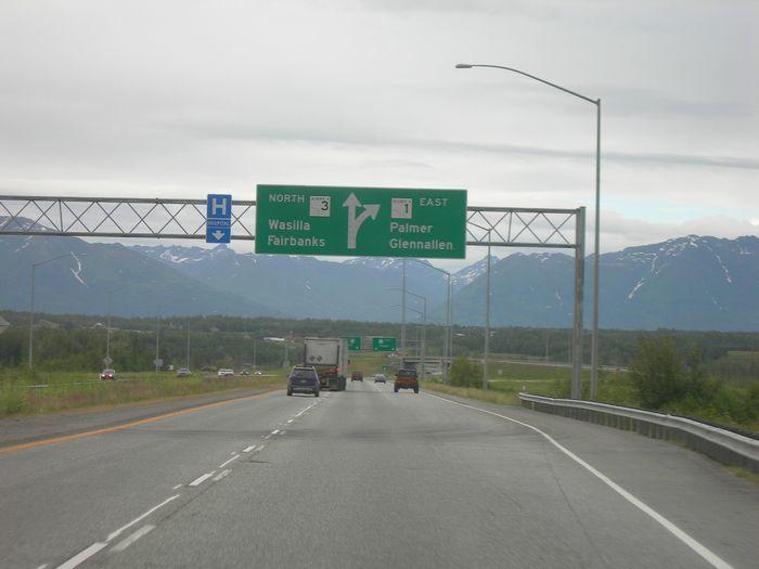 Road trip from Anchorage to Valdez Alaska