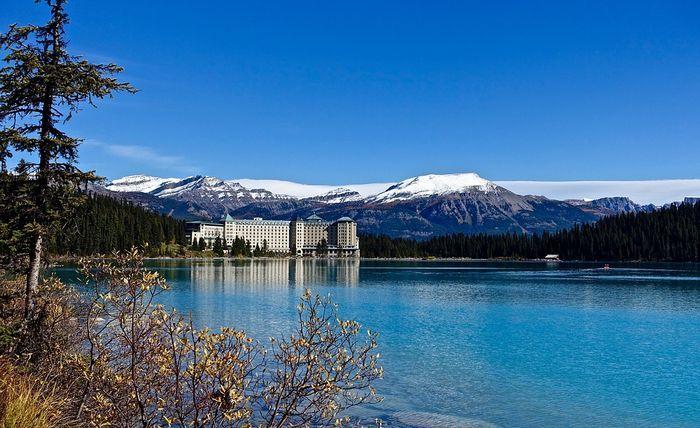 Lake Louise hikes, Banff, Alberta, Canada