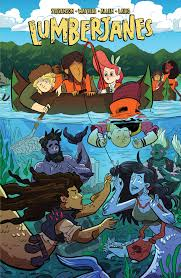 All together now: A Review of Lumberjanes Vol 5 by GothamGal