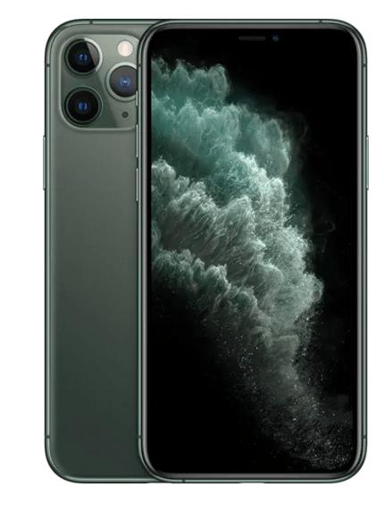 iPhone 11 Pro Green Hero Shot