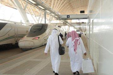 بدء تشغيل محطة قطار الحرمين السريع بالصالة 1 بمطار الملك