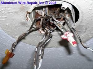 Burned Purple Wirenuts Found in the Field  Aluminum Wire