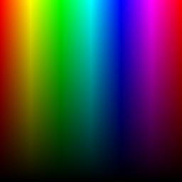 de couleurs selon le mode rvb