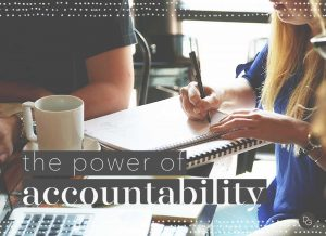 personal accountability to empower success