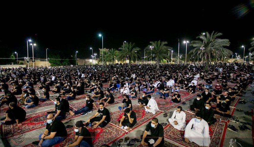 رغم تهديدات النظام السعودي.. القطيف تحيي ليلة عاشوراء