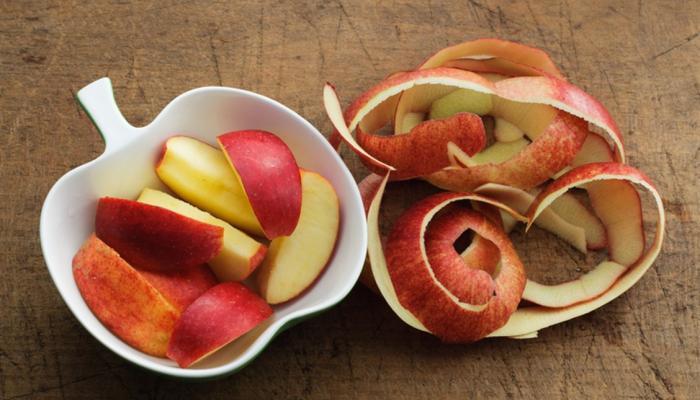 قشر التفاح.. فوائد مذهلة
