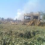 طيران العدوان السعودي يدمر سلة اليمن الغذائية والقطاع الزراعي
