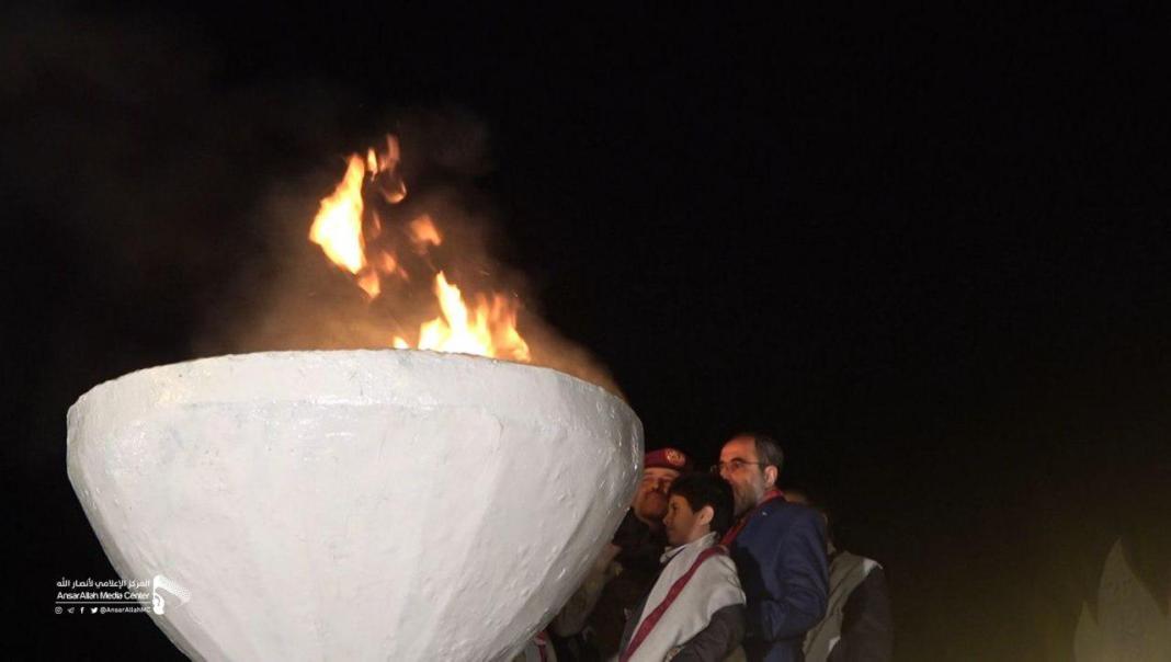 ثورة الحرية والإستقلال.. حفل إيقاد شعلة الثورة بالعيد السادس لثورة 21 سبتمبر بالعاصمة صنعاء