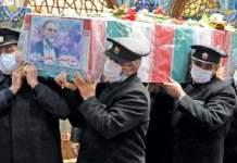 تشييع رسمي لجثمان العالم الإيراني فخري زادة في طهران