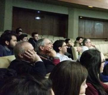 Conferencia sobre Cómics, Ciencia y Comunicaciín en la UNAV.